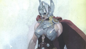 Marvel Gives Us a First Look at Lady Thor