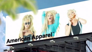 Willam, Courtney Act, and Alaska Serve Face for American Apparel