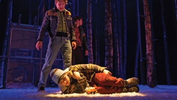 The Stage Fright of 'Let the Right One In' at St. Anns Warehouse in Brooklyn