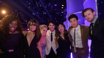 Glee Cast at Family Equality Council Awards