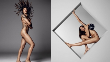 Brittney Griner Bares All for 'Body Issue'