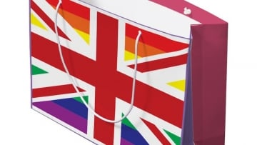 Gay Union Jack Gift Bag
