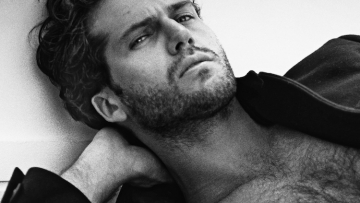 James Lee Taylor, model and actor.