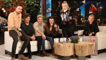 One Direction Rebel Wilson on Ellen Show