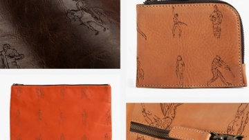 Richard Haines leather goods Moore and giles