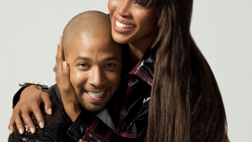 Naomi Campbell and Jussie Smollett by Victoria Will