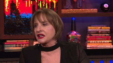 Patti Lupone, Madonna, Andy Cohen