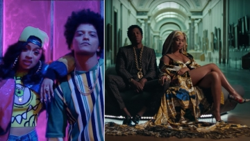 VMA Nominations led by Cardi B and The Carters.