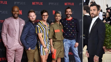 Justin Theroux Totally Slid Into the 'Queer Eye' Cast's DMs