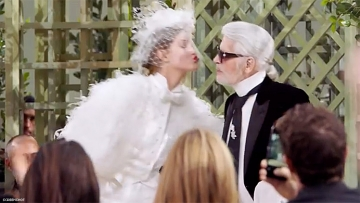 Lagerfeld for Chanel Couture finale