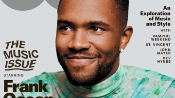 Frank Ocean reveals his skincare secrets in a new interview with GQ.
