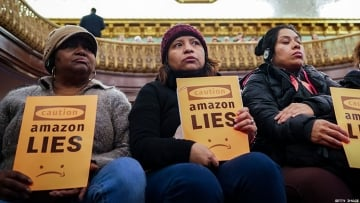 "Amazon pulled out of Queens HQ2, but queer activists say New York is ""in a housing crisis."""