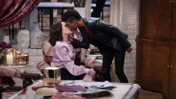 Samira Wiley and Megan Mullalley on Will & Grace