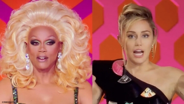rupaul and miley song