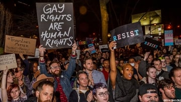 resistance march at Stonewall Inn