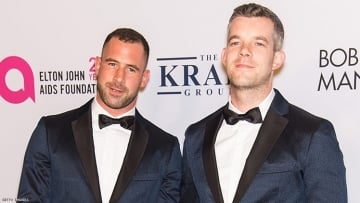 Russell Tovey and His Ex-Fiancé Steve Brockman