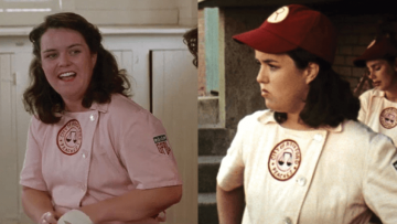 Rosie O'Donnell in A League of Their Own