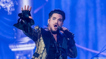 adam lambert is auctioning costumes to benefit GLAAD and his Feel Something Foundation