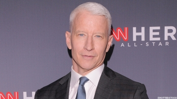 Anderson Cooper was all smiles on TheEllenShow as he talked about the birth of his son, Wyatt Morgan Cooper