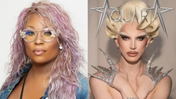 Photos of Aquaria and Peppermint.