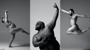 Arrested Movement nude male body positivity series.