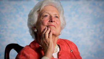 Former First Lady Barbara Bush changed her mind on transgender rights in her 90s.