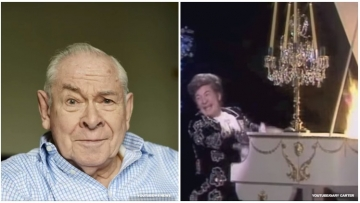 94-year-old Scottish actor and performer Stanley Baxter comes out as gay in new authorized biography.