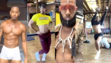 Jarrell Gucci Butch and fem challenge