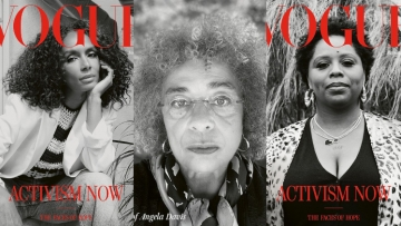 British Vogue covers