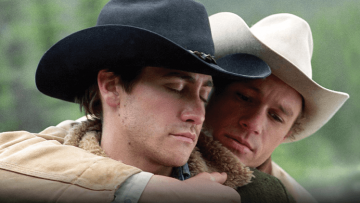 Heath Ledger and Jake Gyllenhall in Brokeback Mountain