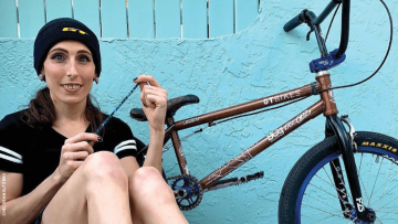 Trans BMX Freestyler Chelsea Wolfe MIght Have Made U.S. Olympic Team