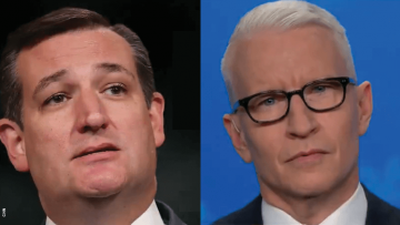 Watch Anderson Cooper Rip Ted Cruz to Shreds For Antigay 'Slur'
