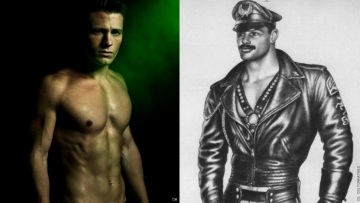 Colton Haynes just paid homage to legendary homoerotic photographer Tom of Finland by posting pics of himself wearing leather to Instagram, and let's just say we're ready to ride with Colton anywhere he wants to take us. The out actor of Supernatural and