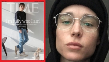 Elliot Page on Time Cover