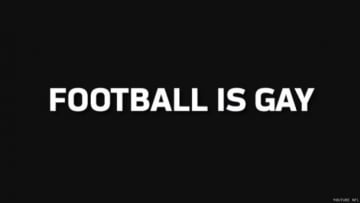 NFL Says Football Is Gay in New Video