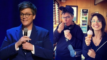 Hannah Gadsby and her wife