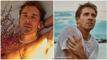 Australian actor Hugh Sheridan reveals he's slept with both men and women, but doesn't want to be labeled.