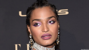 Indya Moore on a red carpet