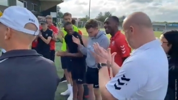 British Soccer Pro Jahmal Howlett-Mundle Comes Out to his Teammates in Stirring Video