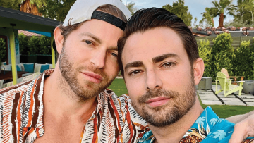 Jonathan Bennett, Jaymes Vaughan Make Gay History on 'The Knot' Cover