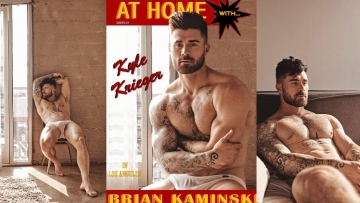 "Kyle Krieger appears relaxing ""At Home"" by Brian Kaminski"