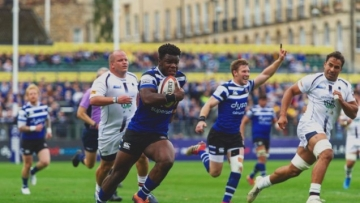 Levi Davis is the first out active pro rugby player with his career ahead of him