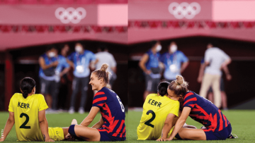 It's Official! Soccer Olympians Kristie Mewis and Sam Kerr Are an Item