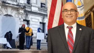 "Trenton Rally Turns Ugly When Speaker Calls Out Mayor a ""F*gg*ot"""