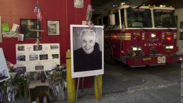Father Mychal Judge was killed at the World Trade Center, but his efforts to help people living with HIV could earn him sainthood.