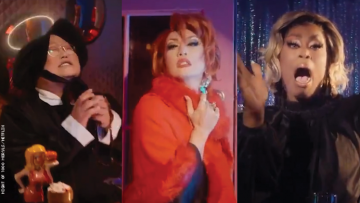Drag Queens dressed as Meryl Streep characters