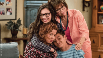The Alvarez Family from One Day at a Time