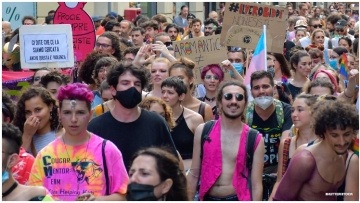 Italy Erupts in Rallies, Protests Over Possible LGBTQ+ Hate Crimes Law