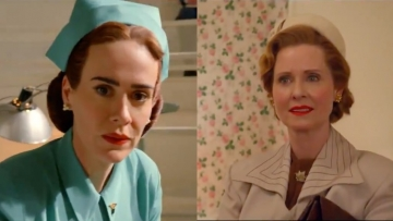 "Sarah Paulson and Cynthia Nixon reveal they were cast in ""Ratched"" because Ryan Murphy felt it was important to have ""two queer women playing two queer women."""