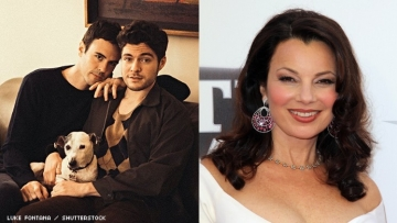 Fran Drescher and couple